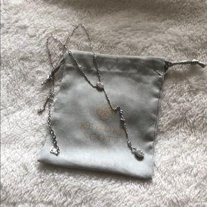 Authentic Kendra Scott Y necklace